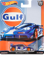 Hot Wheels 2019 Car Culture Gulf Oil Racing McLaren F1 GTR 1/64 Diecast Car