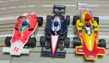 für H0 Slotcar Racing Modellbahn --  3 x Formel 1/ Indy  mit Tyco / G-Plus Motor