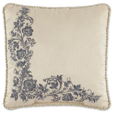 *NEW* Croscill Daphne Square Fashion Decorative Throw Pillow Floral 16 x 16