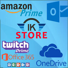 Edu Email 6 Months Amazon PrimeUS 1TB One Drive Office365 🔥INSTANT DELIVERY🔥