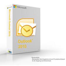 MS Microsoft Outlook 2010 1PC Original 64/32-Bit