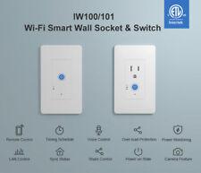 Sonoff IW100 IW101 Poder Interruptor De Pared Casa Inteligente miden más de carga protegen Temporizador