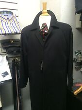 New Men's Overcoat60%Wool40%CashemereWithTag,Size48(Fits38/40USA).Made In Italy.