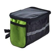 Gepäckträgertasche in Grün für Fahrräder