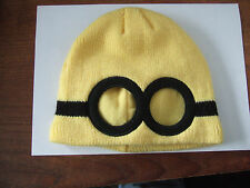 'Minions' hat and Mittens - Age 1-3 years