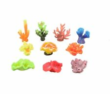 10pcs Artificial Coral Plant for Fish Tank Decorative Aquarium Reef Ornament
