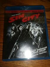 Sin City- Blu-Ray: Theatrical & Recut - Watched Once!