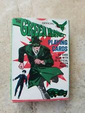 Green Hornet Playing Cards. 1 Deck. Original. 1966.