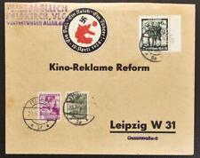 AUSTRIA Nazi Germany 1938 RARE Ostmark Propaganda Label o FELDKIRCH Mix Fr Cover