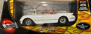 Hot Wheels Limited Edition '53 Pro Street Chevy Corvette Modified 1:18 NIB