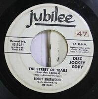 Jazz 45 Bobby Sherwood - The Street Of Tears / Sixth Finger Tune On Empress Musi