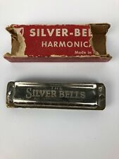 """Vintage Extremely Rare """" The Silver Bells """" HARMONICA GERMANY - FSTSHP"""