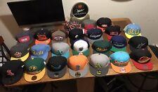 21 Hat Lot New Era Vintage Snapback Hat Sports Specialties Script Nba Mlb Nfl