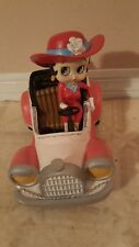Extremely Rare! Betty Boop Riding In Cabrio Old Timer Car Figurine Statue