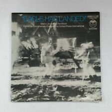 EAGLE HAS LANDED! Man's Journey To The Moon IT74001 Dbl LP Vinyl VG+nr++ Poster