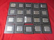 Intel Pentium MMX/Celeron Black Fiber CPUs for Gold Scrap Recovery(Lot of 20Pcs)