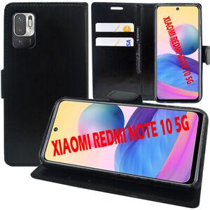 """Étui Coque Housse Portefeuille En Cuir Antichoc Xiaomi Redmi Note 10 5G 6.5"""""""