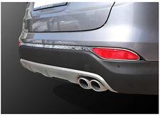 Rear Bumper Reflector Chrome Molding Cover For 2013~2015+ Hyundai Santa Fe Sport
