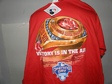 MLB Boston Red Sox 2005 Opening Day Ring Ceremony T-Shirt Size 2XL (NWT)