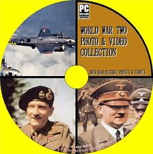 9000 WORLD WAR II IMAGE + VIDEO ARCHIVE PCDVD WW2 WEAPONS MAP PLANS MEMORABILIA