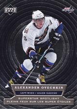Alexander Ovechkin 2007-08 McDonald's Upper Deck Superstar Spotlight #SS3