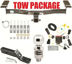 11-14 FORD EDGE TRAILER HITCH ~ COMPLETE TOW PACKAGE ~ WIRING + BALL + MOUNT NEW