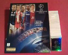 Panini komplett Champions League 10/11 + Album Leeralbum alle Sticker 2010/2011