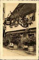 Herrenalb Schwarzwald AK 1937 Gasthaus historische Klosterschänke Zum Ochsen