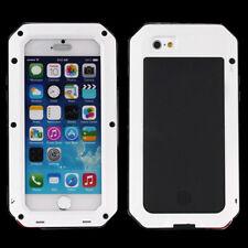 Apple iPhone 6/6s a prueba de impactos de Aluminio Gorilla Metal Cubierta Blanco