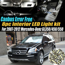 AMG 20x Xenon White Error Free Interior LED Lights Kit for Mercedes X164 GL