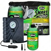 Slime Smart Emergency Flat Tyre Repair Puncture Air Compressor & Sealant Kit