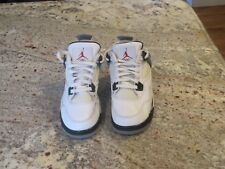 AIR JORDAN RETRO 4 IV WHITE CEMENT (2012) SIZE 7