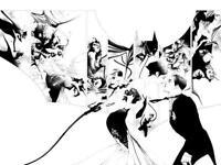 BATMAN #50 JAE LEE DF B&W VIRGIN VARIANT DC COMICS WEDDING CATWOMAN