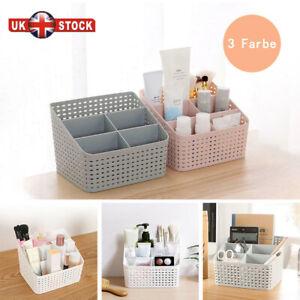 UK Multi-function Cosmetic Organizer Desktop Make-up Solid Organizer Storage Box