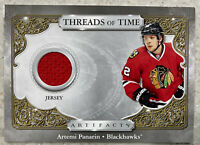 2020-21 UD ARTIFACTS  Artemi Panarin THREADS OF TIME GAME JERSEY #TTAP Jersey