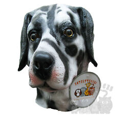 Latex Animal Full Head Dalmatian Dog House Pet Fancy Dress Stag Hen Party Masks