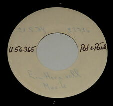 "Pat & Paul - 7"" Single - MUSTER - SAMPLE COPY - Ein Herz voll Musik"