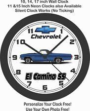 1970 Chevrolet El Camino SS Wall Clock-Free USA Ship