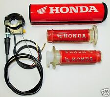 Honda Grips, Ignition Kill, Bar Pad Dirt Bike Pit Bike Pocket Bike Motor Cross
