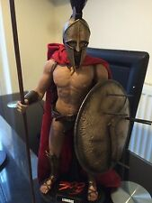 Custom Hot Toys King Leonidas 1/6 Scale Figure