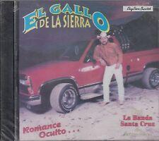 El Gallo de la Sierra Con Banda Santa Cruz CD New Nuevo Sealed