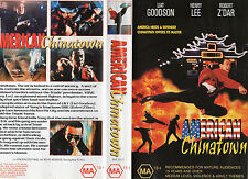 AMERICAN CHINATOWN - Henry Lee -VHS -PAL NEW -Never played! -Original Oz release