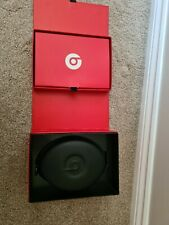 Monster BEATS by Dr Dre STUDIO Wired BLACK AND RED Headphones