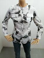Camicia CALVIN KLEIN donna taglia size S  woman chemise maglia maglietta P 6045