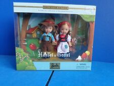 BARBIE KELLY & TOMMY DOLLS AS HANSEL & GRETEL- STORYBOOK COLLECTION NRFB