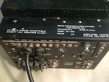 Vintage Bogen Communications  Amplifier / Lear Siegler MODEL MT100 100-Watt