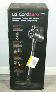 LG CordZero ThinQ A927KGMS Cordless Stick Vacuum Cleaner Gray - New Sealed Box