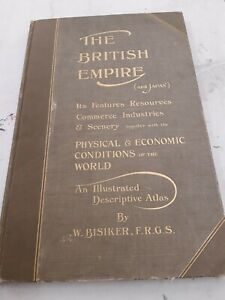 Antique British Empire Atlas