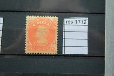 STAMPS OLD CHILE  YVERT N. 11 Mh* (ROS1712