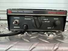Federal Signal | Pa300 100W Siren/Pa